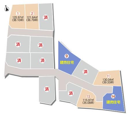 セットプラン画像2:三町2丁目分譲住宅