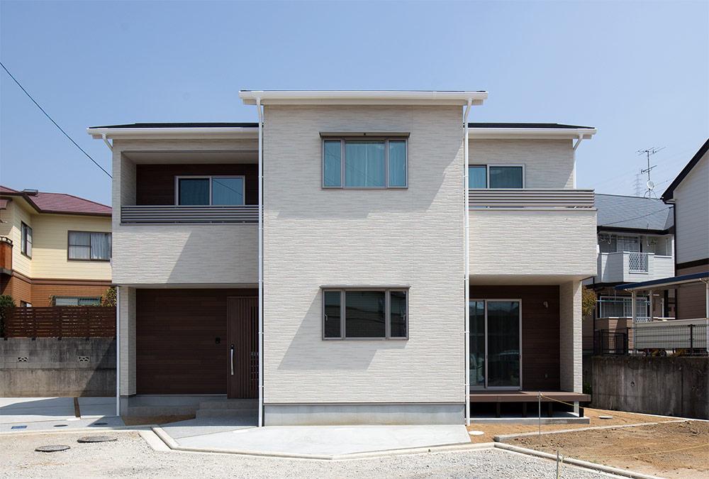 外観画像:畑寺モデルハウス