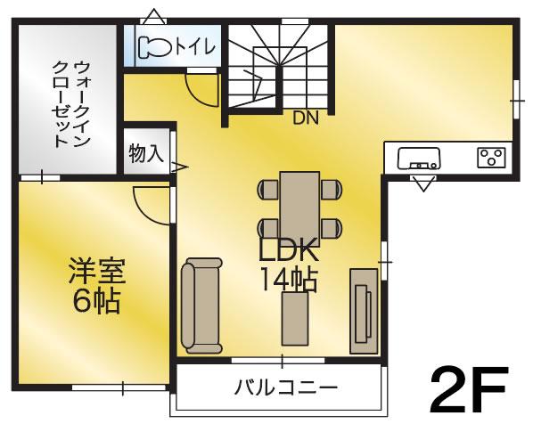 間取り画像2:小坂5号地分譲住宅