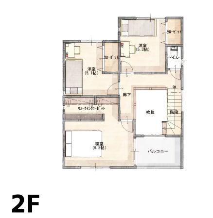 間取り画像2:別府町<3号地建売住宅>