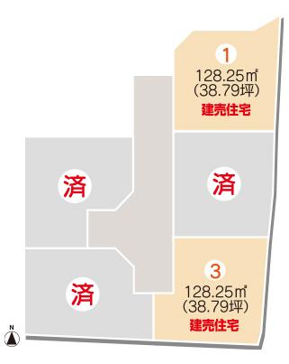 セットプラン画像2:別府町<1号地建売住宅>