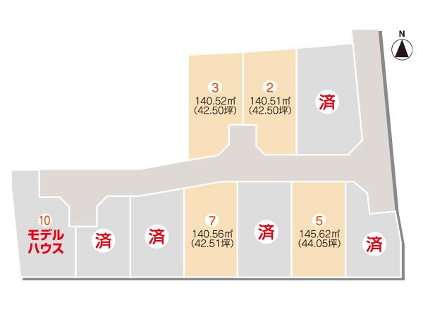 セットプラン画像2:古三津モデルハウス<10号地>